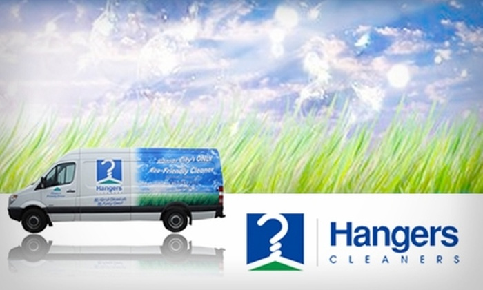 Hangers Cleaners - Antelope Run: $15 for $30 Worth of Eco-Friendly Dry-Cleaning Services at Hangers Cleaners