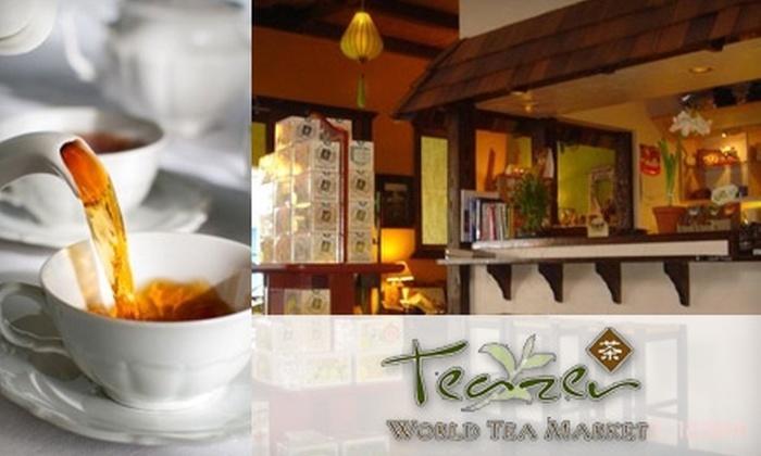 Teazer World Tea Market - Tower District: $5 for $10 Worth of Loose-Leaf Teas and Drinks at Teazer World Tea Market