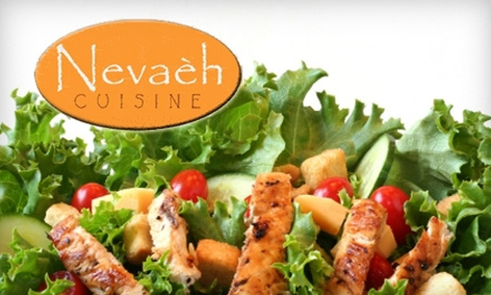 Nevaéh Cuisine - Pleasantville: $10 for $20 Worth of Healthy Global Fare at Nevaèh Cuisine in Pleasantville