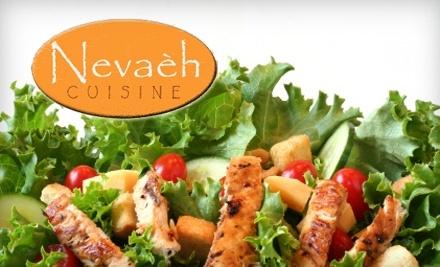 $20 Groupon to Nevaeh Cuisine - Nevaeh Cuisine in Pleasantville