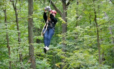 Weekday Canopy Tour (a $95 value) - Lake Geneva Canopy Tours in Lake Geneva