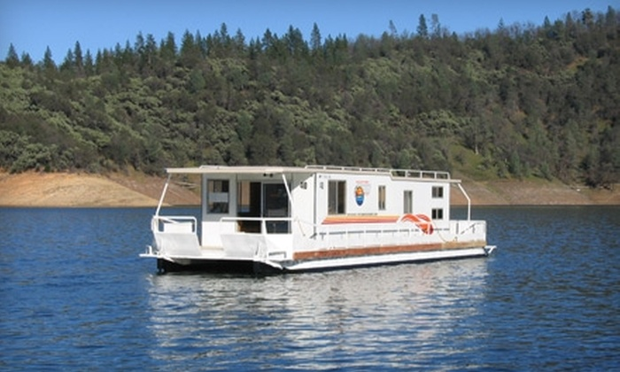 Silverthorn Resort - Sacramento: $1,196 for a Seven-Night Houseboat Stay on Lake Shasta at Silverthorn Resort