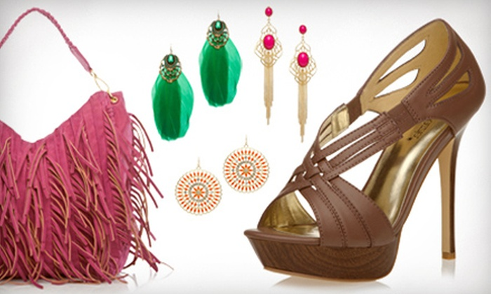 ShoeDazzle - Daytona Beach: $19 for a Handbag, Jewelry Set, or Pair of Shoes from ShoeDazzle