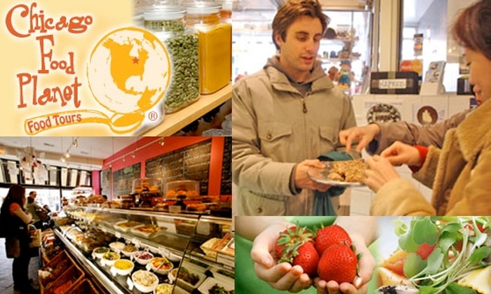 Chicago Food Planet - Chicago:  $21 Chicago Food Tour Ticket (Half-off $42 Value)
