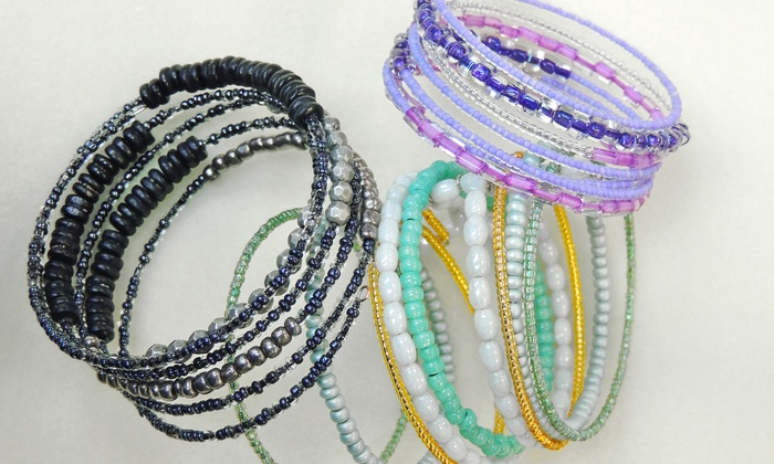 Brighton Beads & More - Brighton: 90-Minute BYOB Bracelet-Making Class for One or Two at Brighton Beads & More (Up to 56% Off)