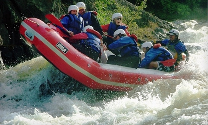 Tarka's Whitewater Journey - Norway: A Half-Day of White-Water Rafting on the Menominee River from Tarka's Whitewater Journey in Niagara. Two Options Available.