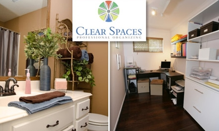 Clear Spaces, LLC - Brentwood: $60 for Four Hours of Professional Organizing from Clear Spaces, LLC ($260 Value)