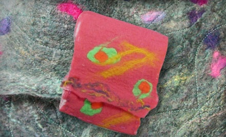 2-Hour Intro to Feltmaking Class for 1 (a $40 value) - Eugene Textile Center in Eugene