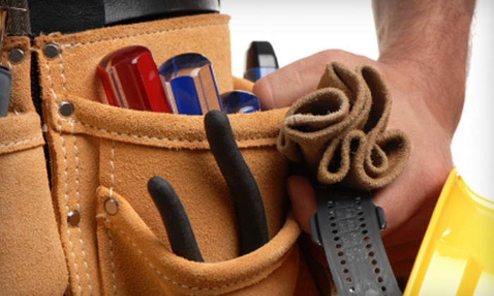 Yellow Van Handyman - Multiple Locations: $59 for an Initial Visit and Handyman Services from Yellow Van Handyman (Up to $159.99 Value)