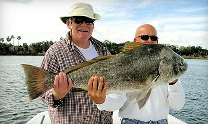 Fish Benthic - Crystal River: Half-Day Chartered Fishing Trip for Two or Four from Fish Benthic in Crystal River (Half Off)