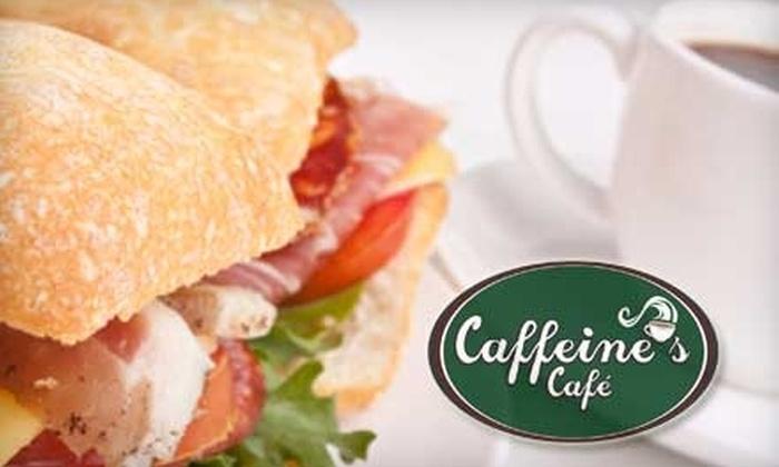 Caffeine's Café  - Farmington: Half Off Breakfast, Lunch, or Dinner Fare at Caffeine's Café