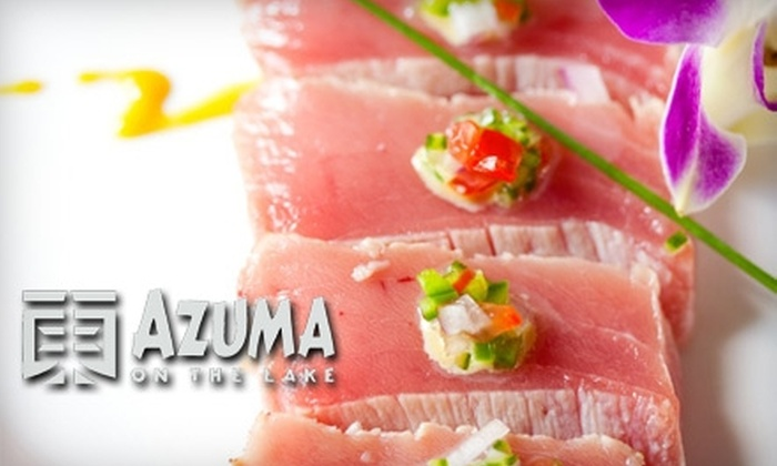 Azuma on the Lake - Sugar Land: $20 for $40 Worth of Sushi at Azuma on the Lake in Sugarland