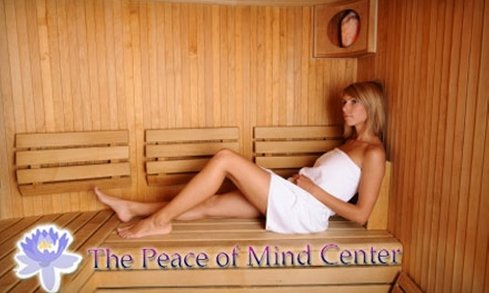 Peace of Mind Center - Broadmoor, Anderson Island, Shreve Isle: $15 for a 30-Minute Infrared Sauna Session at Peace of Mind Center