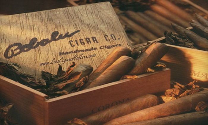 Bobalu Cigar Company - Downtown: Cigar Sampler Pack or $25 for $50 Worth of Cigars and Accessories at Bobalu Cigar Company
