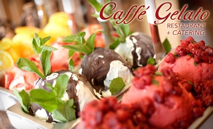 Caffe Gelato: $30 Groupon for Dinner - Caffe Gelato in Newark