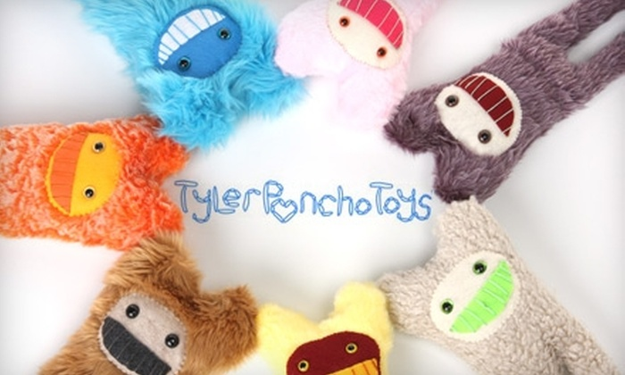 Tyler Poncho - Madison: $15 for $30 Worth of Handmade Plush Toys from Tyler Poncho