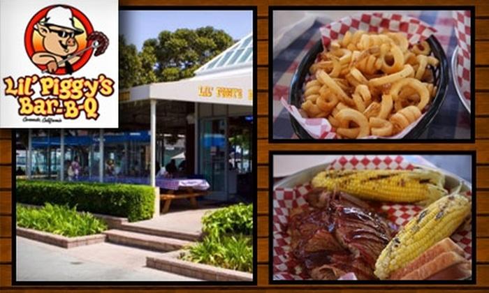 NadoLife Inc. - Coronado: $10 for $20 Worth of Delicious Fare at Lil' Piggy's Bar-B-Q