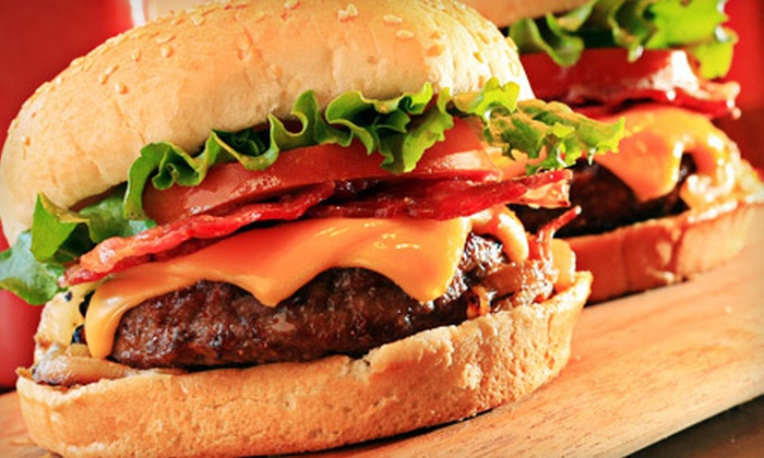The Mill Pond Tap and Grill - Dorchester: Burger Meal for Two or $15 for $30 Worth of Pub Fare at The Mill Pond Tap and Grill in Dorchester