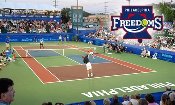 Philadelphia Freedoms - Villanova: $20 for One Ticket to Watch the Philadelphia Freedoms in an Upcoming World TeamTennis Match ($40 Value). Two Dates Available.