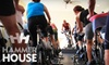 Hammer House - CLOSED - Multiple Locations: $66 for a 10-Class Card Toward Indoor-Cycling Sessions at Hammer House