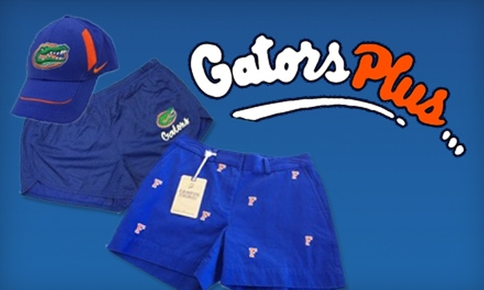 Gators Plus - University Park: $10 for $20 of Orange and Blue Apparel, Accessories, and Gifts at Gators Plus