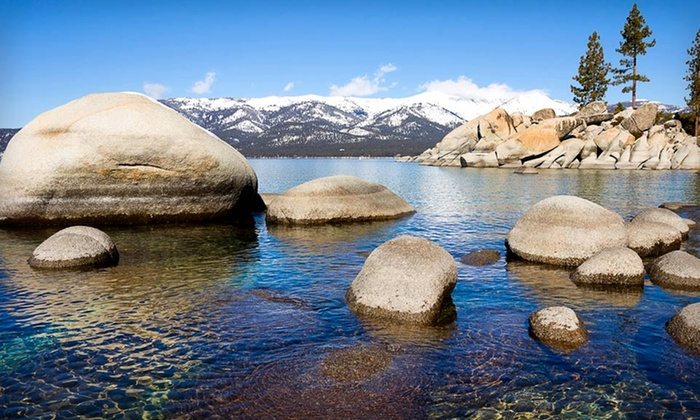 968 Park Hotel - South Lake Tahoe: Two-Night Stays for Two in a Deluxe Room with Bottle of Wine at the 968 Park Hotel in California