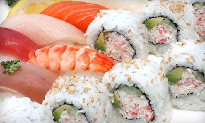 Shinkou Sushi - Laguna Hills: Sushi Dinner for Two or Four at Shinkou Sushi in Laguna Hills (Up to 55% Off)