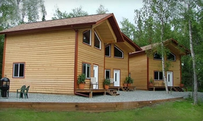 Alaska Adventure Unlimited - Matanuska-Susitna: One-Night Stay in Private Chalet from Alaska Adventure Unlimited. Choose from Three Lodging Options.