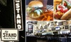 The Stand - Multiple Locations: $8 for $16 Worth of Classic Comfort Food and Drinks at The Stand. Choose from Three Locations.