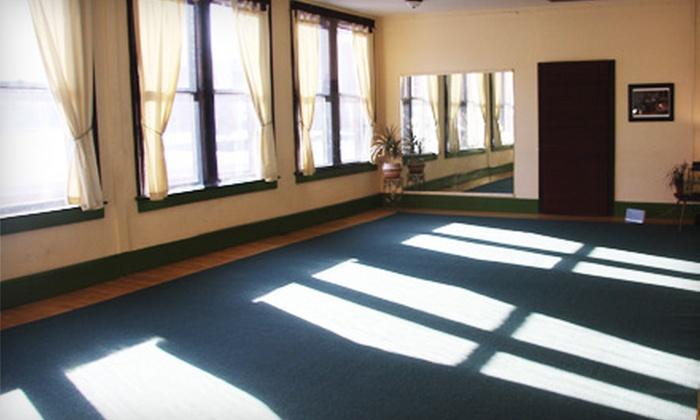 Karoun Yoga - Metro Center: Five or Ten Classes or One Month of Classes at Karoun Yoga