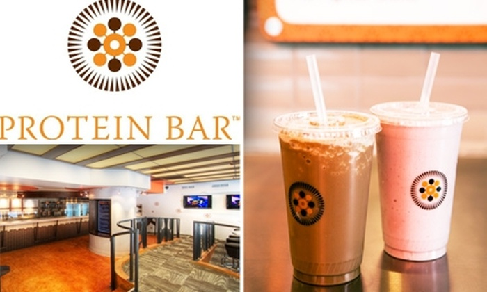 Protein Bar - Loop: $10 for 4 Blended Drinks from Protein Bar ($24 Value)