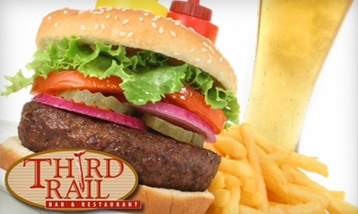Third Rail Bar & Restaurant - Maidencreek: $7 for $15 Worth of Pub Fare and Drinks at Third Rail Bar & Restaurant in Blandon