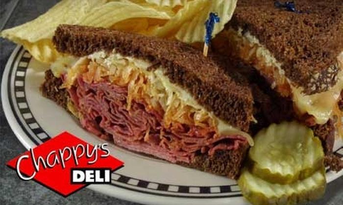 Chappy's Deli - Birmingham: $6 for $12 Worth of Deli Fare at Chappy's Deli