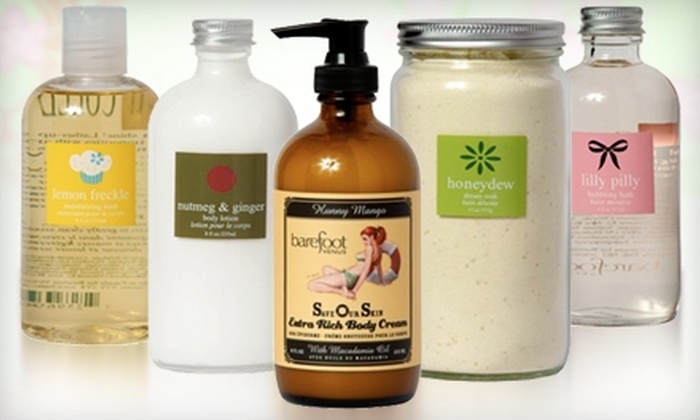 Barefoot Venus: $20 for $40 Worth of Bath and Body Products from Barefoot Venus