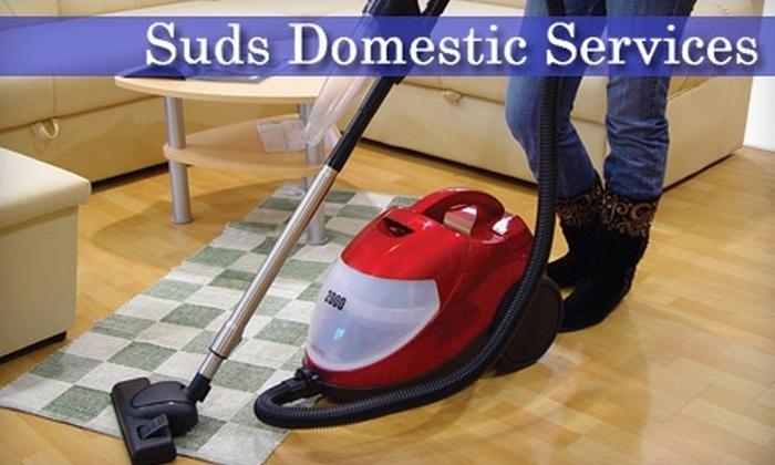 Suds Domestic Services - North Miami: $30 for Three-Hour Cleaning Service from Suds Domestic Services ($60 Value)