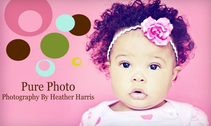 Pure Photo - Seven Hills: $49 for One-Hour Photography Session Plus Five Digital Images from Pure Photo