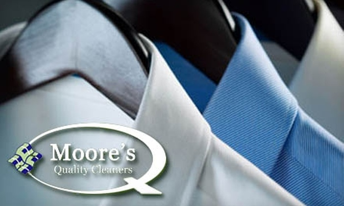 Moore's Quality Cleaners - Portland: $25 for $50 Worth of Dry Cleaning with Pickup and Delivery from Moore's Quality Cleaners