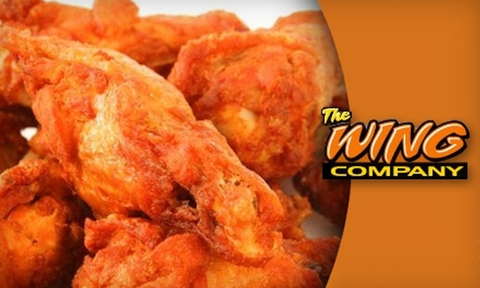 The Wing Co. - Terry Sanford: $10 for $20 Worth of Wings, Sandwiches, Fries, and More at The Wing Co.