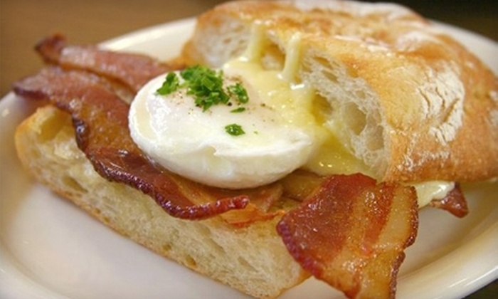 Carmel Belle - Carmel-by-the-Sea: $10 for $20 Worth of Breakfast or Lunch Fare at Carmel Belle