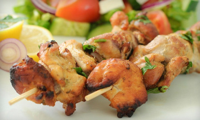 Droubi Brothers Mediterranean Grill - Downtown: Lunch or Catering from Droubi Brothers Mediterranean Grill (Half Off)
