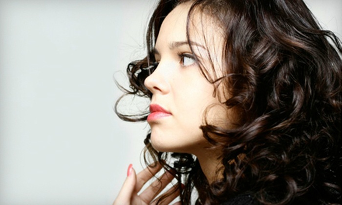 R17 Salon - Arden - Arcade: Haircut and Style, Facial, or Highlights at R17 Salon (Up to 54% Off)