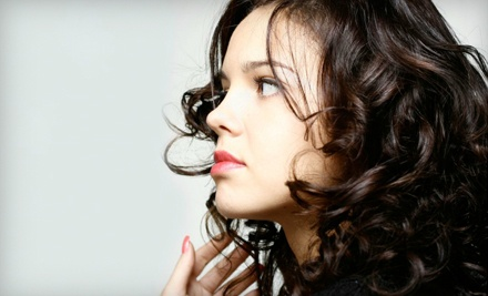 Up to 54 off haircut highlights or facial r17 salon for 33 fingers salon groupon