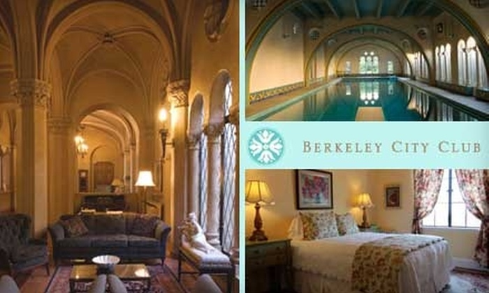 Berkeley City Club - South Berkeley: $80 for a One-Night Stay and Breakfast in a Standard Room ($180 value) or $130 for a One-Night Stay and Breakfast in a Two-Room Suite (up to $260 value) at Berkeley City Club