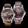 Geneva Platinum Radiant Reptile Women's Watch