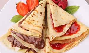 The Lily Pad Cafe: $13 for Two Groupons, Each Good for $10 Worth of Crepes, Breakfast Food, Salads, and Soups at The Lily Pad Cafe