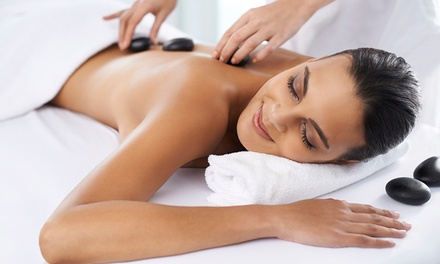 Full Body Hot Stone Massage for One or Two (Up to 71% Off)