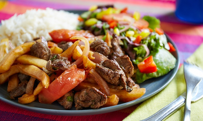 Dominican and peruvian food ma 39 s kitchen groupon for Authentic peruvian cuisine