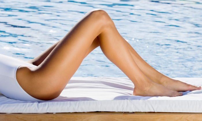 D'lux Skin Care & Aesthetics - Mission Viejo: Three Laser Hair-Removal Treatments at D'Lux Skin Care & Laser Aesthetics (75% Off)