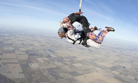Saut en parachute tandem à 219 € avec Sauter en Parachute