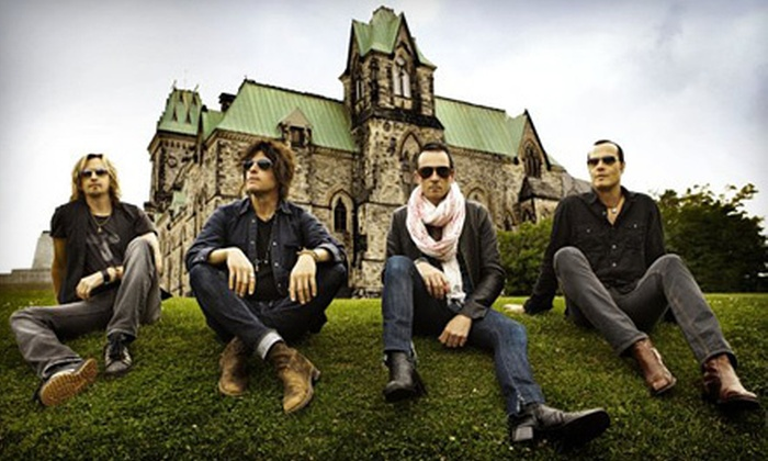 Stone Temple Pilots - Bank of New Hampshire Pavilion: $17 for One Ticket to See Stone Temple Pilots Concert at Meadowbrook U.S. Cellular Pavilion on Friday, August 31 at 8 p.m. (Up to $34.75 Value)